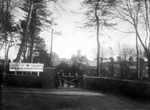 Royal Naval Auxiliary Hospital, Tregolls Road, Truro, Cornwall. Early 1900s
