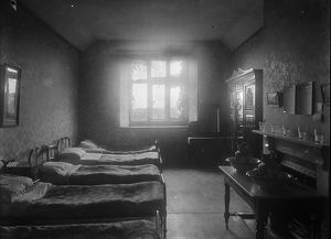 Sleeping quarters for the members of the First World War Women's Land Army at Tregavethan Farm