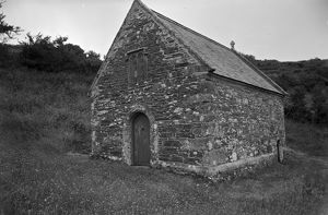 St Clether Chapel, Cornwall. 1959