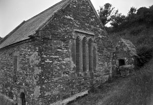 St Clether Chapel and Holy Well, Cornwall. 1959