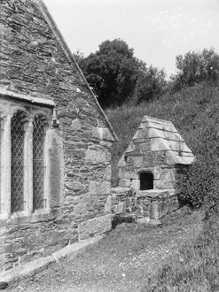 St Clether Chapel and Holy Well, Cornwall. June 1925