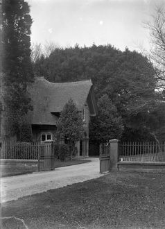 Tehidy South Lodge, Illogan, Cornwall. Early 1900s