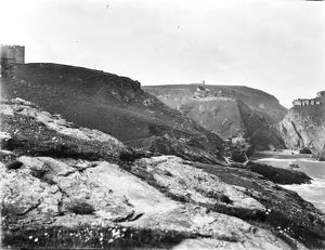 Tintagel Haven, Cornwall. 1907