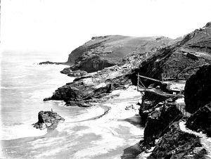 Tintagel Haven, Cornwall, 1907
