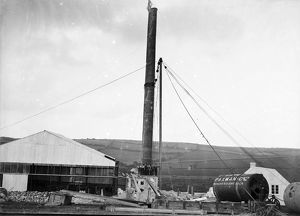Tolgarrick Mine, St Stephen-in-Brannel, Cornwall. 1922