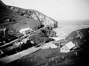 Trebarwith, Tintagel, Cornwall. 1920s