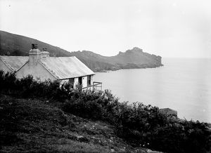 Treen Cove, Zennor, Cornwall. Date unknown