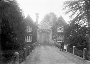 Tregothnan Lodge gatehouse, near Tresillian, St Michael Penkevil, Cornwall. Early 1900s