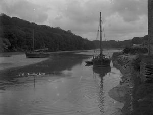 Tresillian River, Tresillian, Cornwall. 1890s