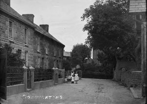 Vicarage Terrace, Constantine, Cornwall. Early 1900s