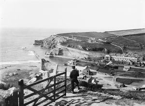 View of Portreath, Cornwall. 1895