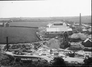 West Wheal Kitty, Trevellas Coombe, St Agnes, Cornwall. Before 1915