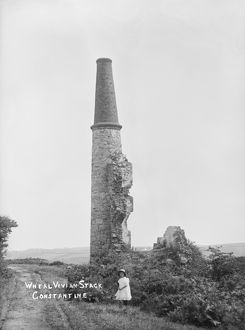 Wheal Vivian, Constantine, Cornwall. Early 1900s